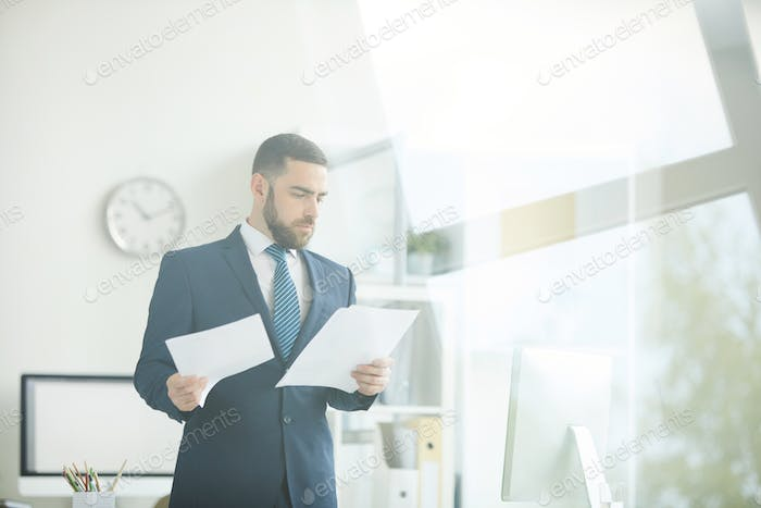 Working with business documents