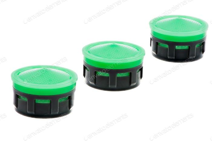 Reihe von isolierten Kunststoff-Wasserhahn Belüfter
