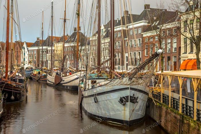 historic sailing ships winterwelvaart groningen photo by