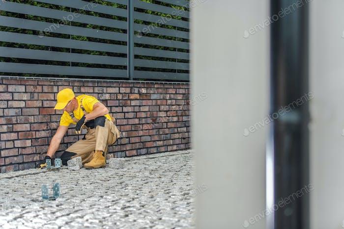 Residential Bricks Paving Work