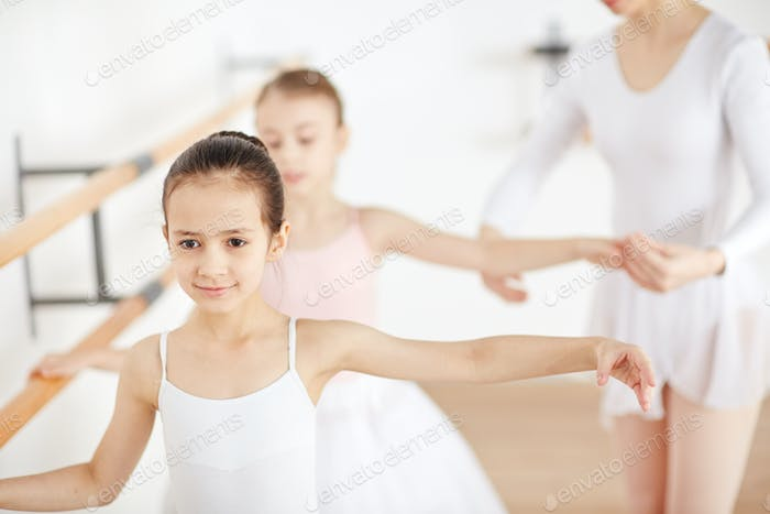 Ballet with teacher
