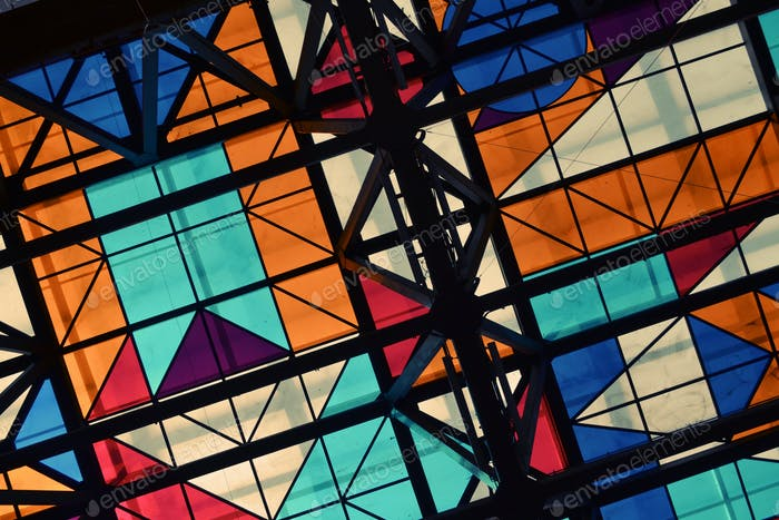Abstract Color Roof