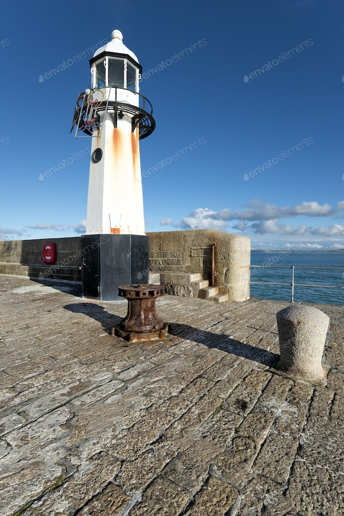 Lighthouse at St Ives