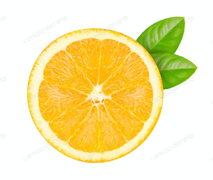 cut into  orange