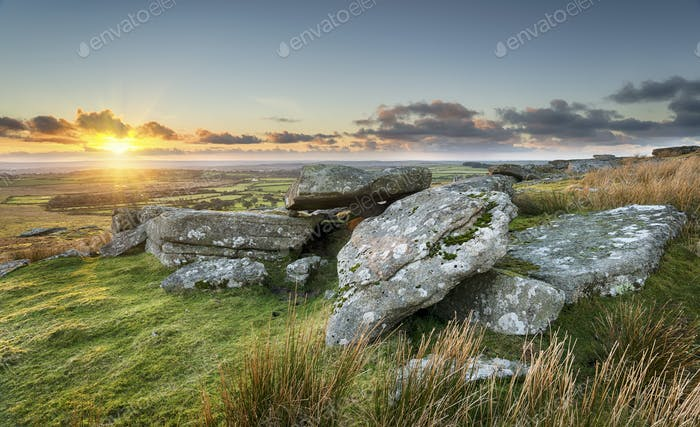 Sunset on the Moors