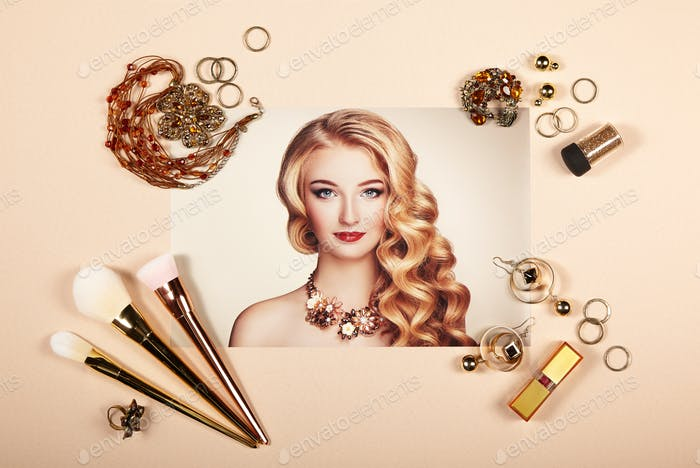Fashion Lady Accessoires Collage