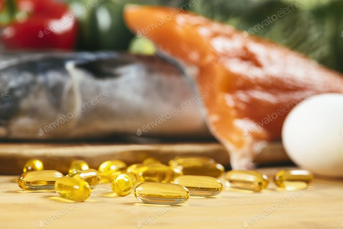 Omega 3 Gel Capsules and Natural Sources of Omega 3