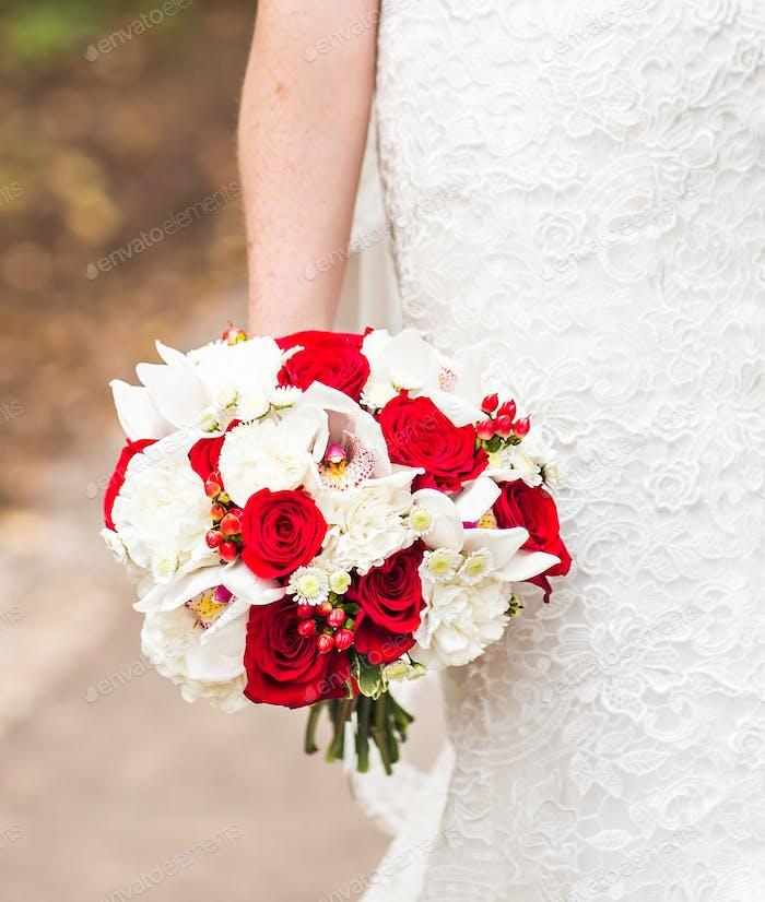 schöne Hochzeit Blumenstrauß