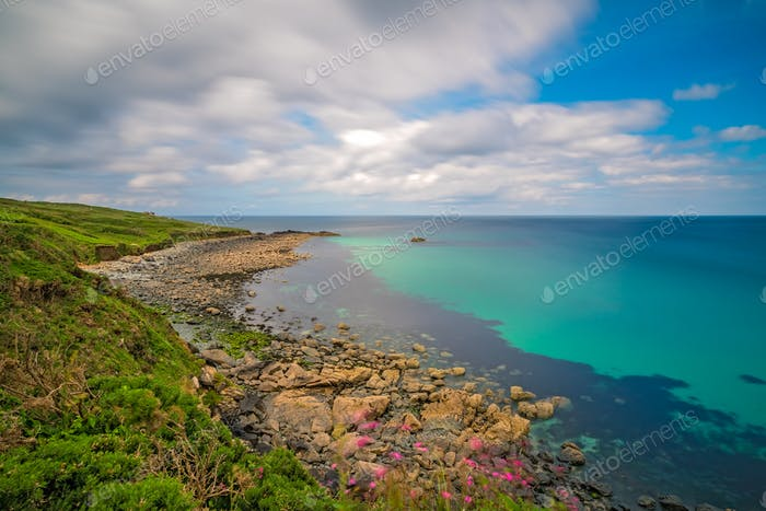 Stunning coastal Cornish landscape