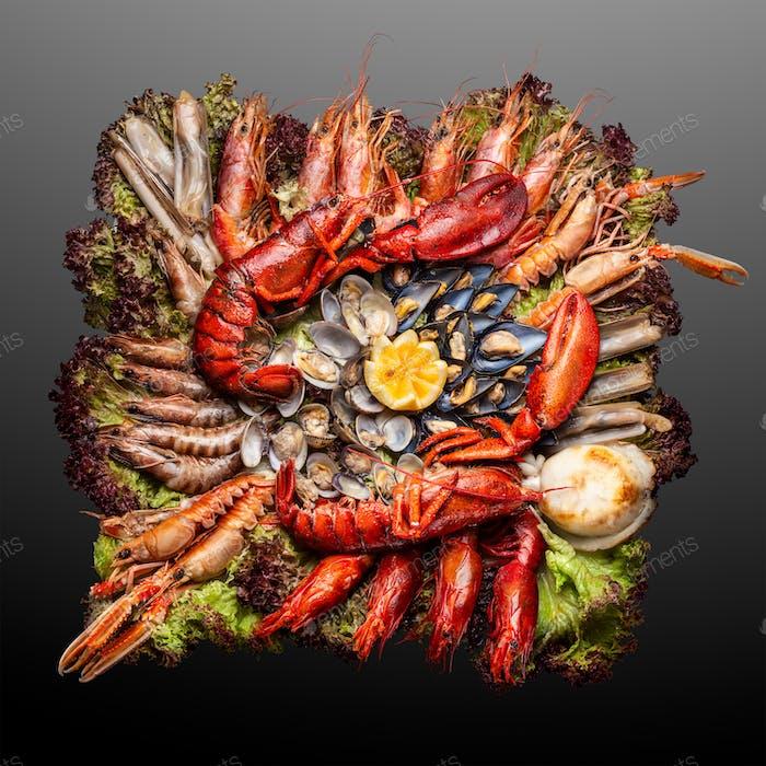 Seafood Galeon.
