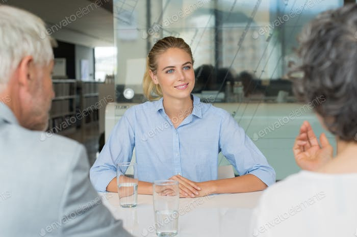 Job recruitment interview