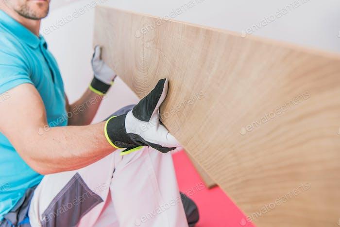 Hardwood Floor Panels