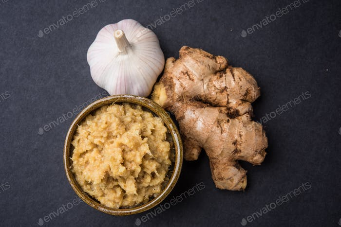 Ginger and Garlic Paste