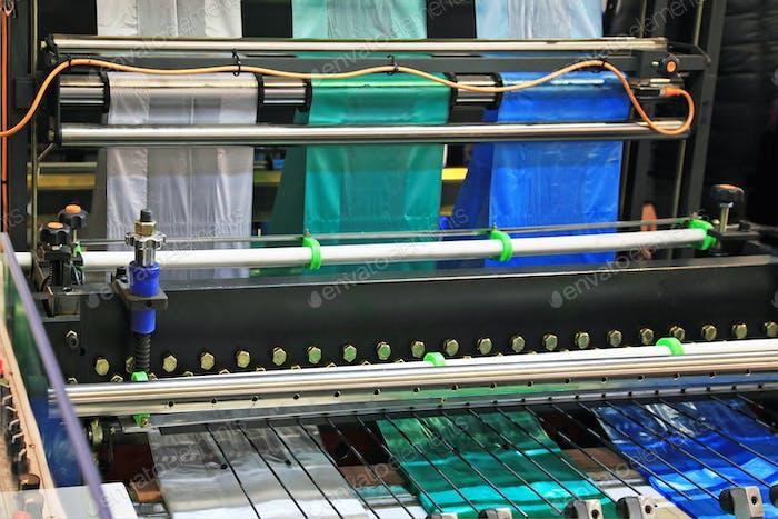 Herstellung von Plastiktüten