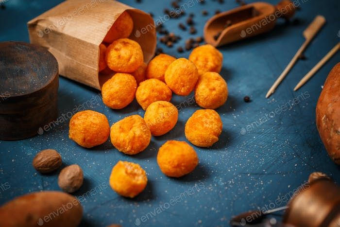 Sweet otato croquettes