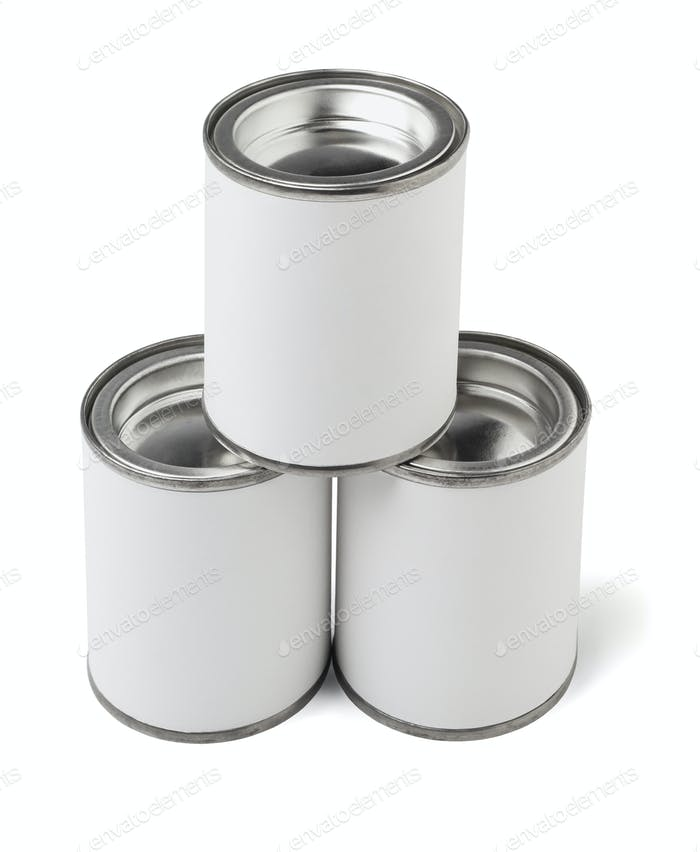 Three Tin Cans