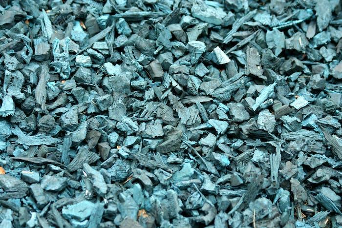 Recycelter geschredderter Gummiuntergrund