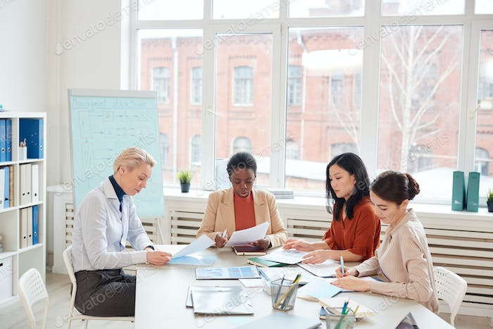 Group of Women at Business Meeting