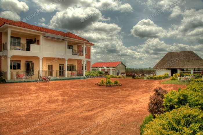 Luxury Hotel, Uganda, Africa