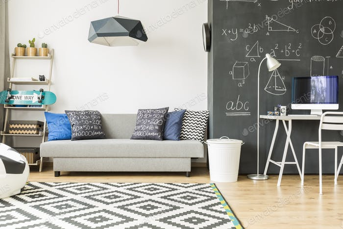 Cosy and comfortable kid's room