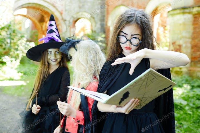 Halloween witchcraft