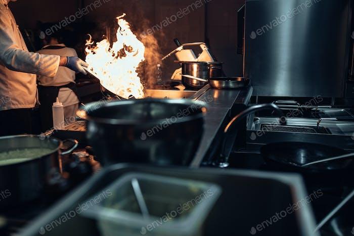 A skilled cook