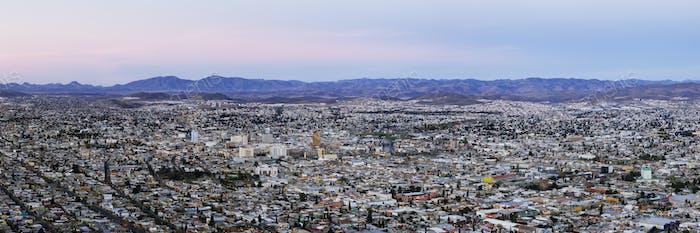 Skyline of Chihuahua from Cerro Coronel