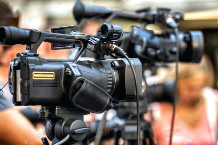 Medienereignis, Kamera-Aufzeichnung