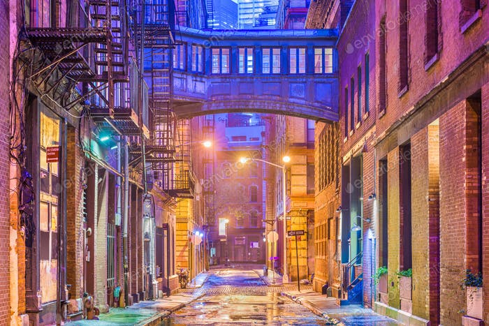 New York City Alleyway