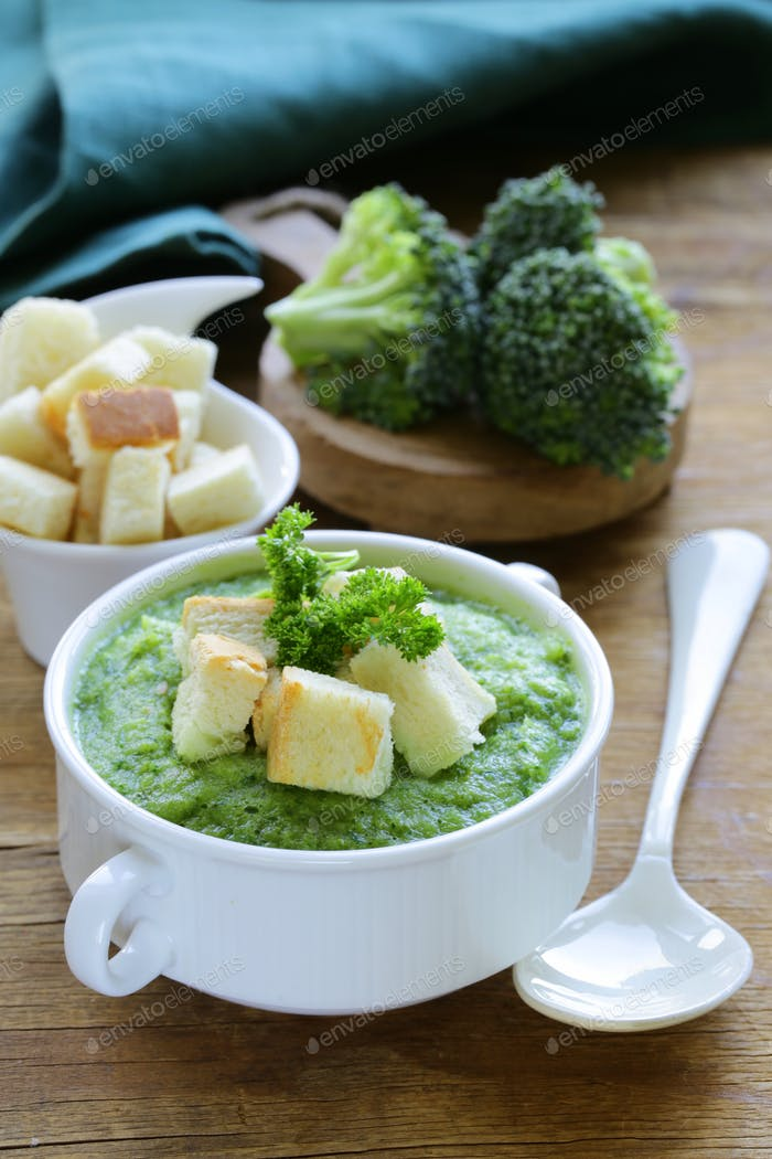 Vegetable Broccoli Cream Soup