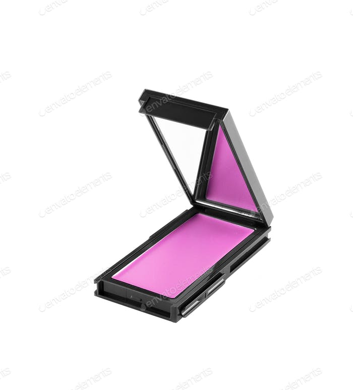 Pink make up shadows isolated