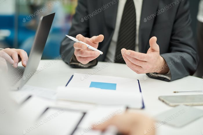 Meeting Table Background