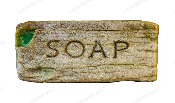 Isolated Vintage Soap