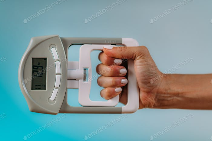 Hand Dynamometer Grip Strength Test