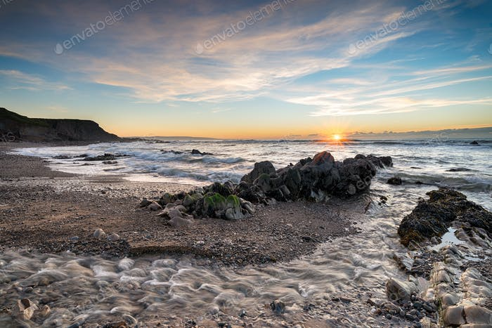 Northcott Mouth Beach