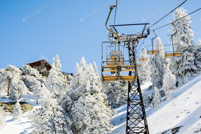 Skilift Mount Baldy (Mt San Antonio)