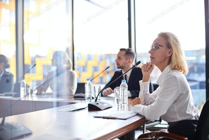 Delegates at conference