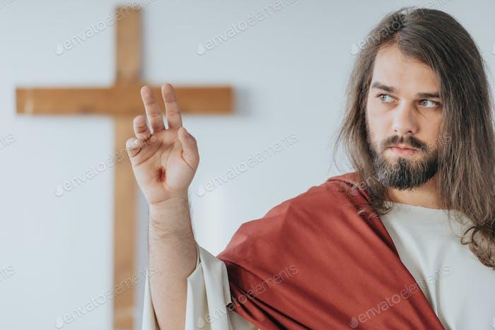 Jesus Christus nach der Kreuzigung