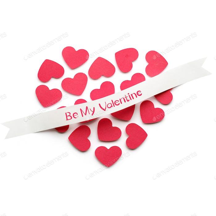 Sei mein Valentinstag.