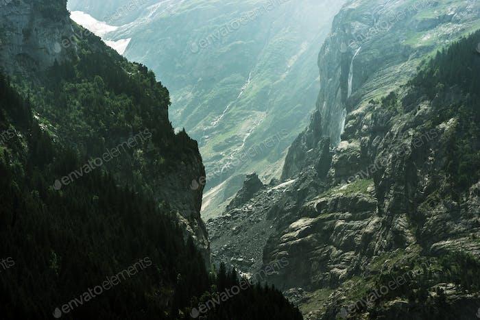 Dramatic Jungfrau Landscape