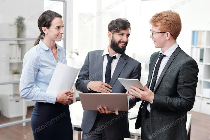 Creative Business Team in Office