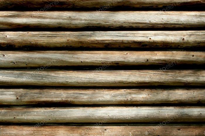 Log-Kabine Wand Hintergrund
