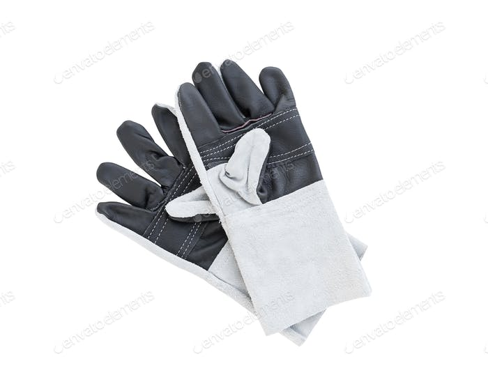 Leather gloves for welding-3