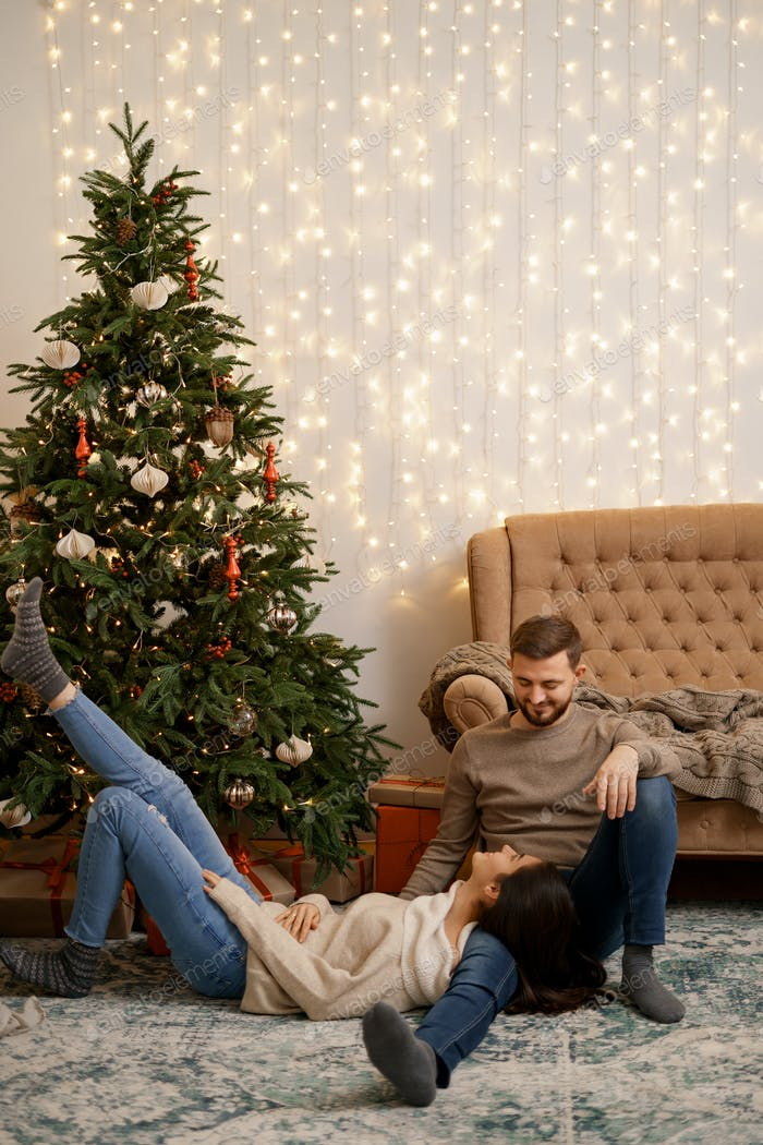 People, Christmas, holidays and new year concept