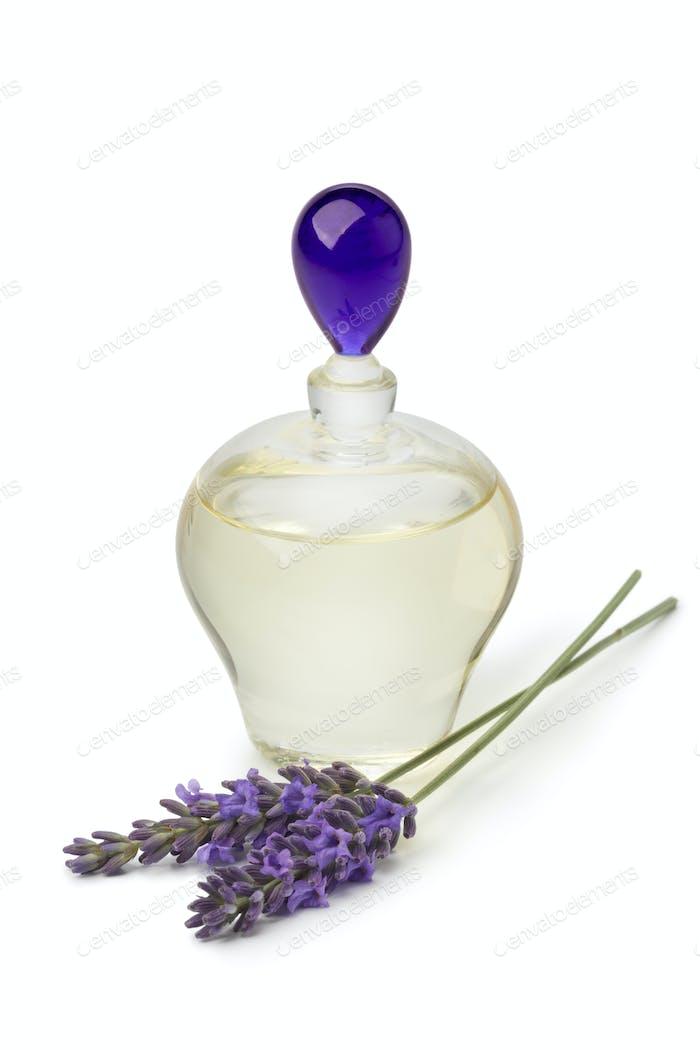 Bottle with lavender oil