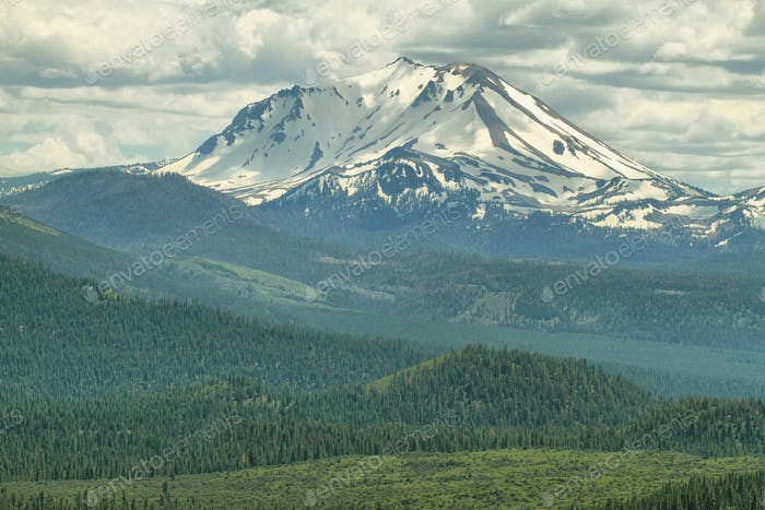Lassen Peak, Lassen Volcanic National Park, California
