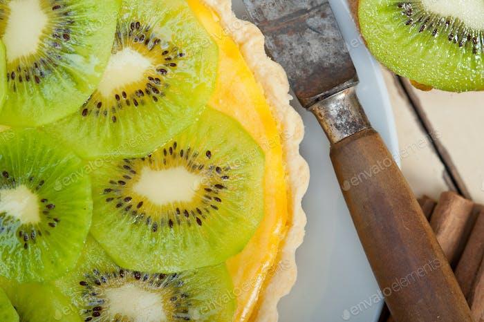 Kiwi Pie Torte und Gewürze