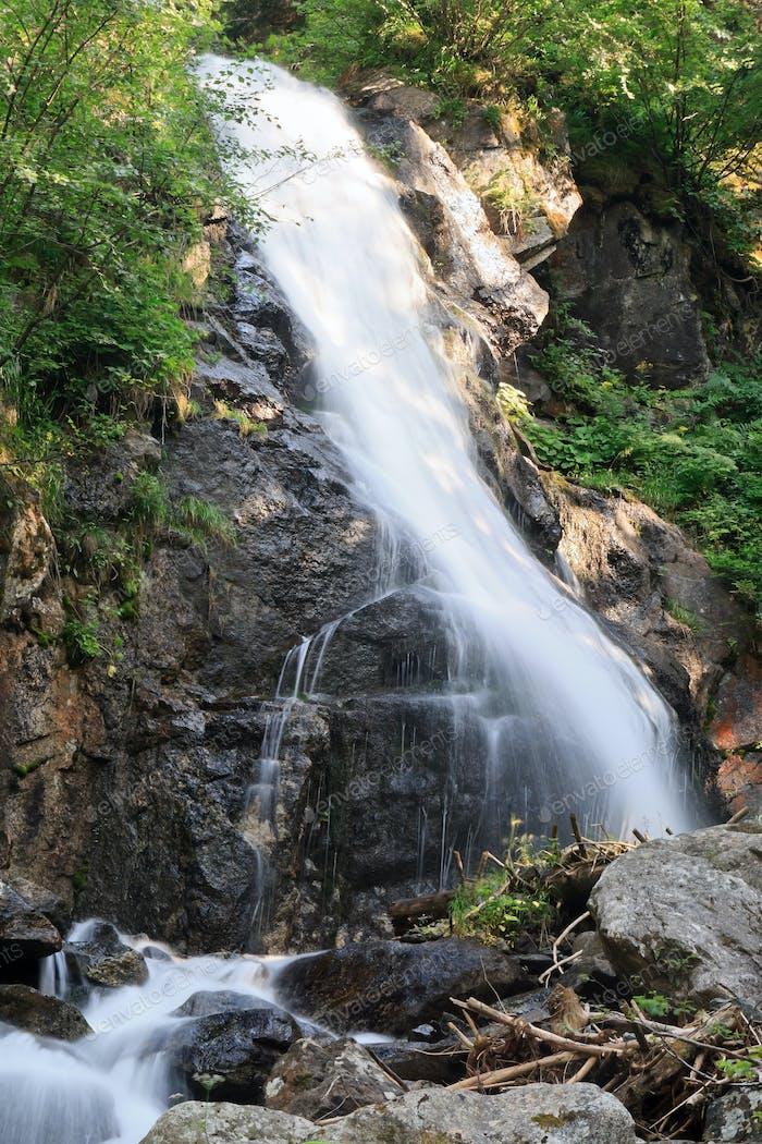 Val di sole - small waterfall