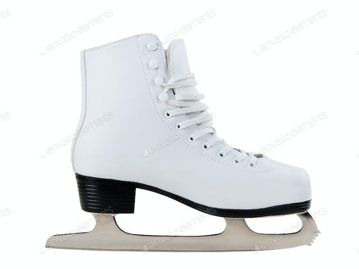 White skates for figure skating