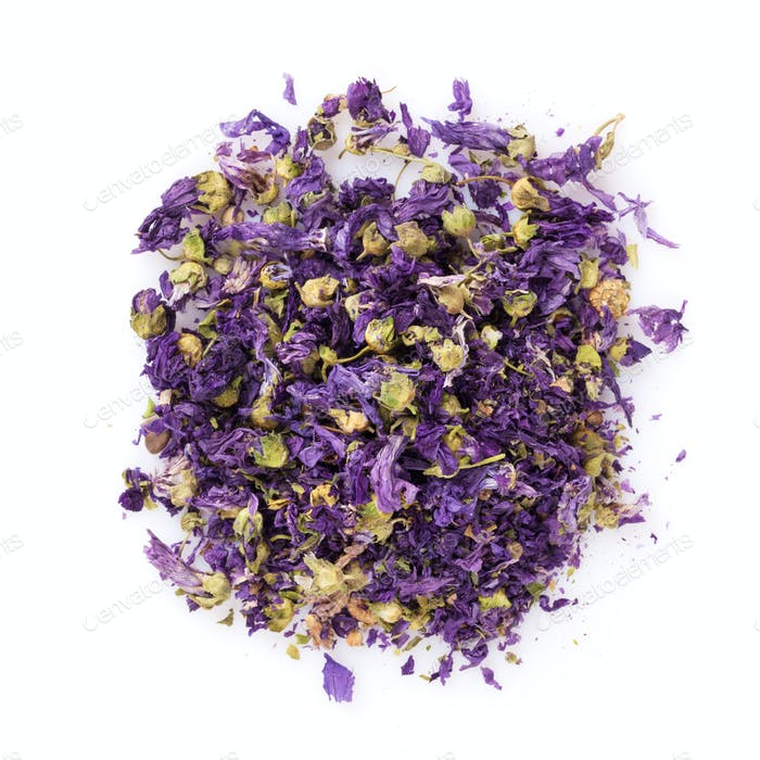 Purple flower spice